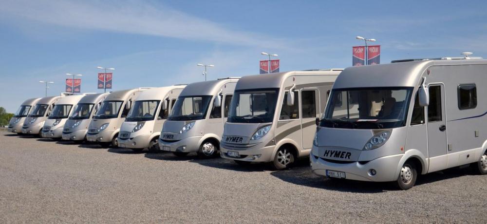 Tyskarna köper fler husbilar och husvagnar