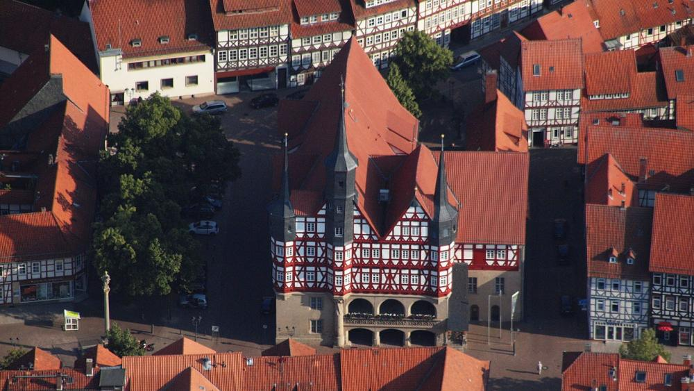 Duderstadt, korsvirkeshusens Mekka