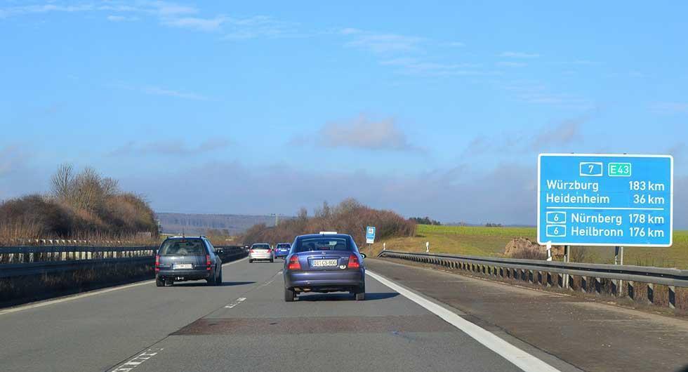 Klimatmål sänker hastighet på Autobahn?