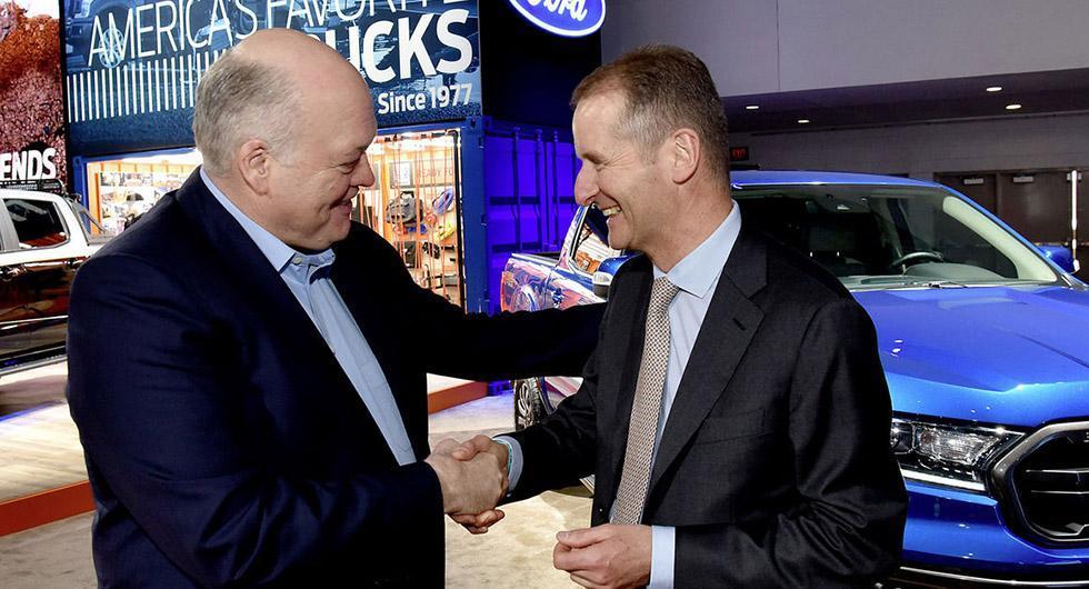 Volkswagen och Ford bildar allians