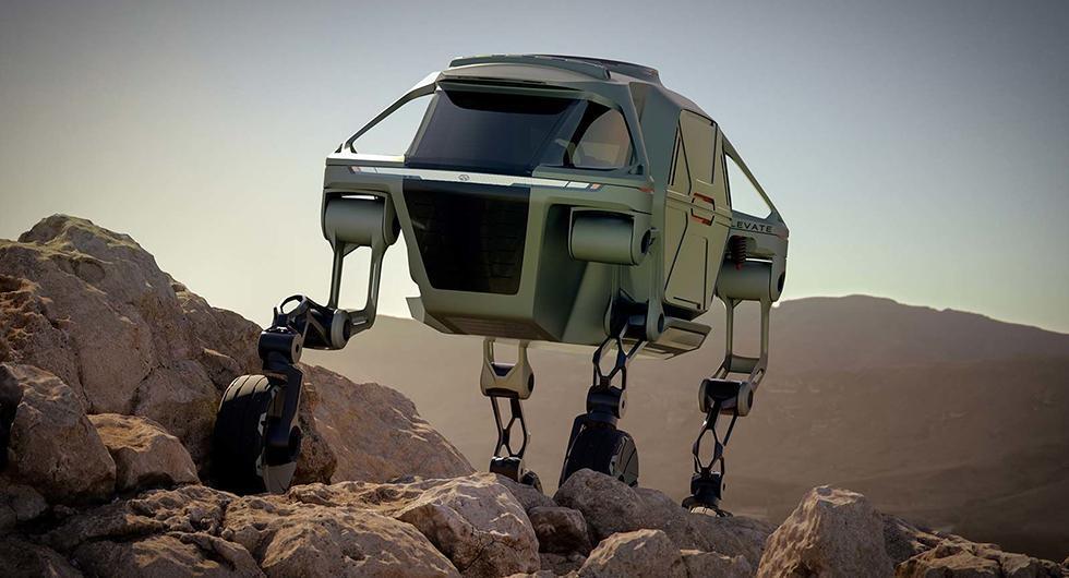 Hyundai Elevate kravlar dit inga bilar når