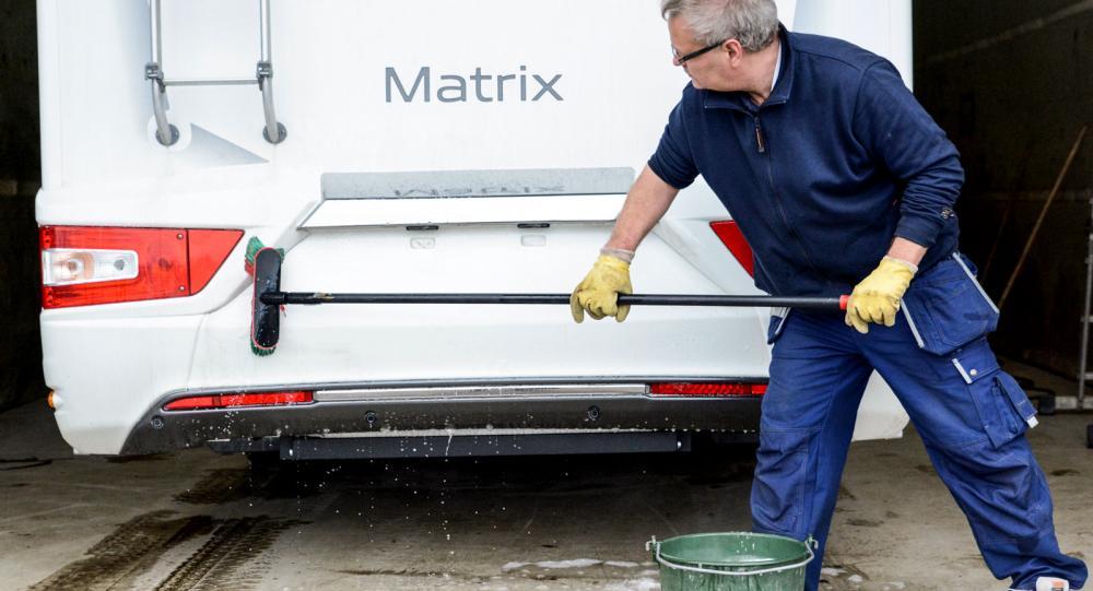 Guide: Så tvättar du din husbil eller husvagn