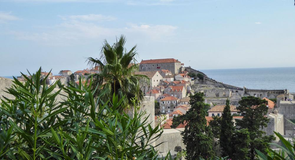 Dubrovnik i Kroatien var ett uppskattat resmål under parets resa.