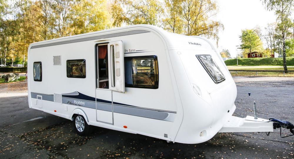 Hobby 545 KMF De Luxe av 2012 års modell.