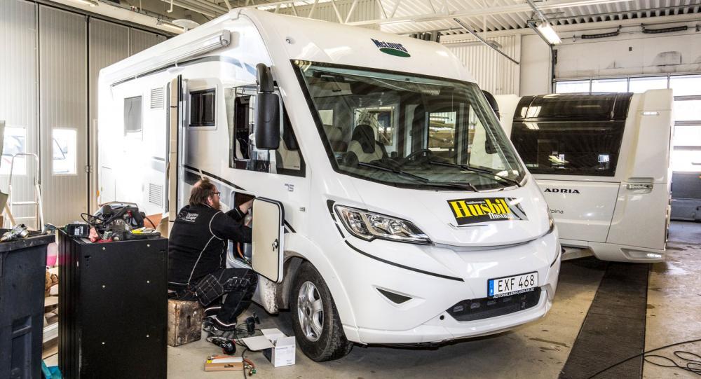 Truma iNet: Vi installerar bekvämlighet och säkerhet i husbilen