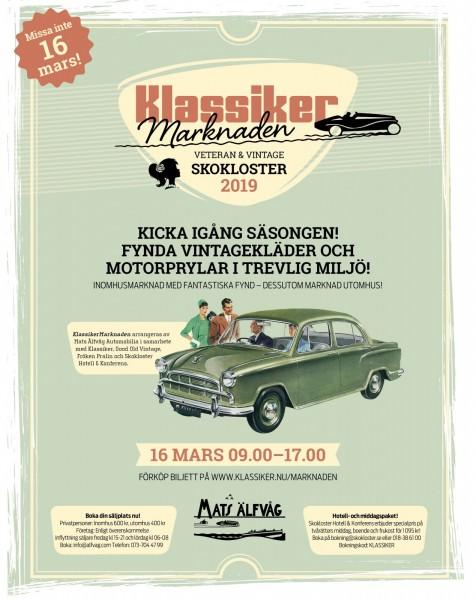 Förköp biljett till KlassikerMarknaden!
