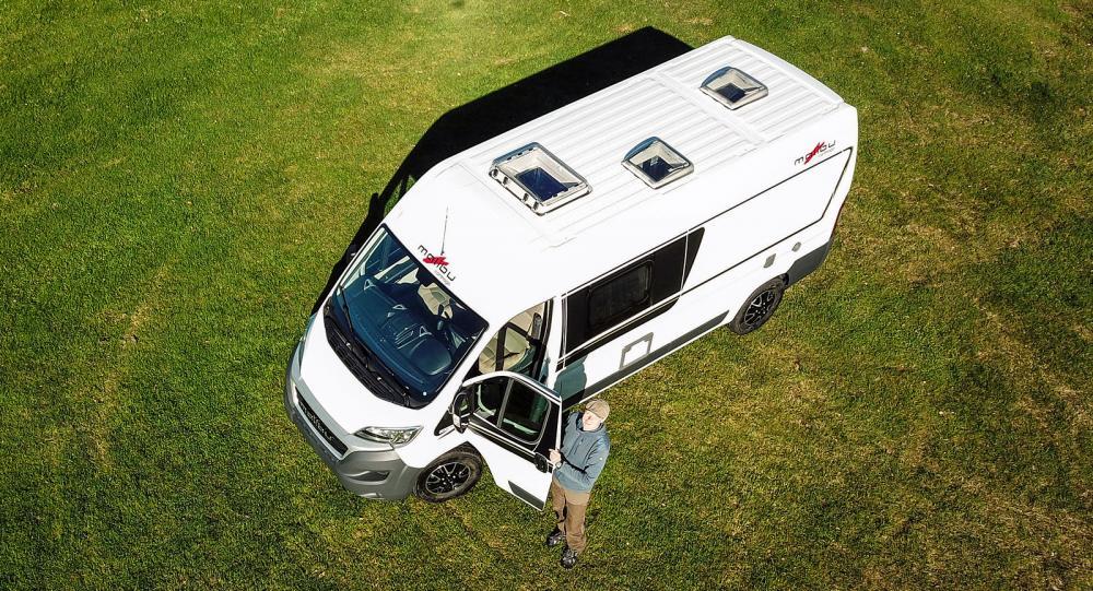 Malibu Van 600 LE – lyxförpackad plåtis