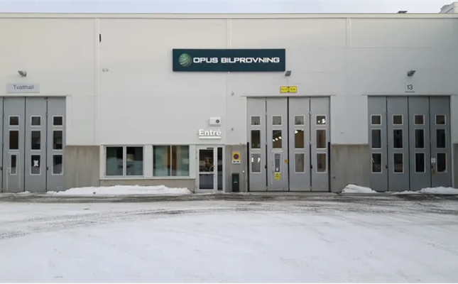 Ny besiktning i Luleå