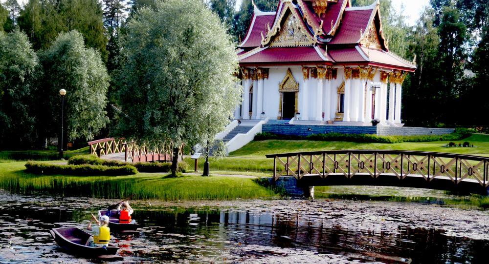 Thailändska paviljongen i Ragunda