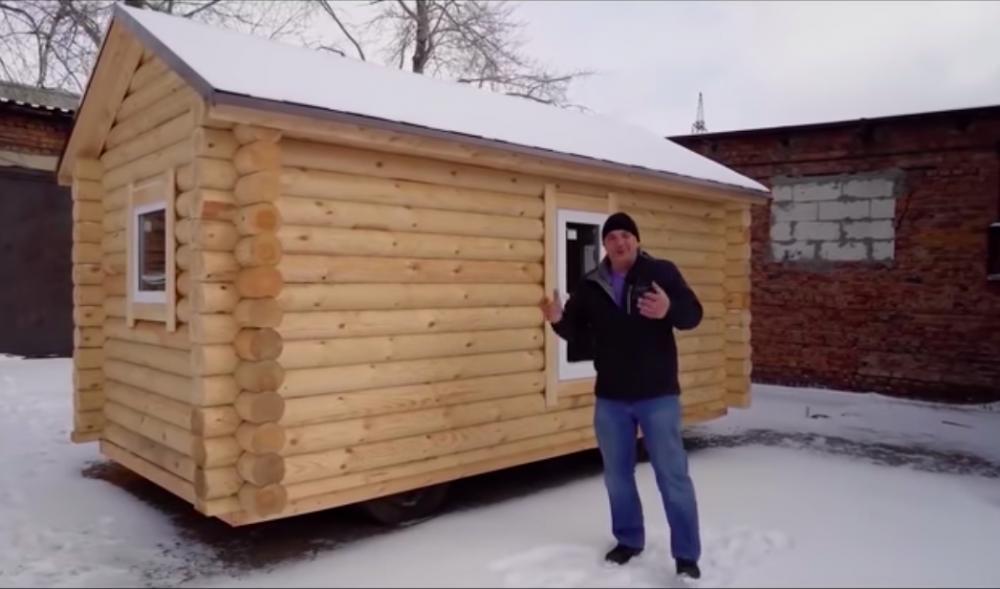 En rysk husbil ska vara rustik
