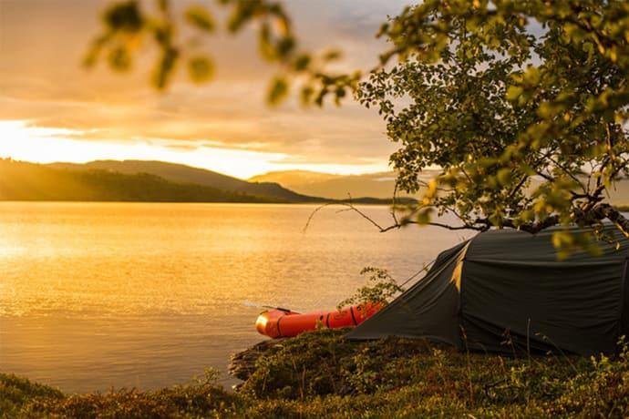 Nästan 12 miljoner gästnätter på campingar under 2018