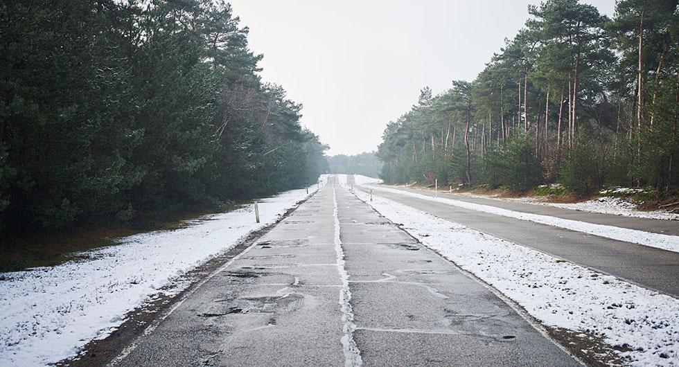 Tjälskott och vägproblem på Trafikverkets karta