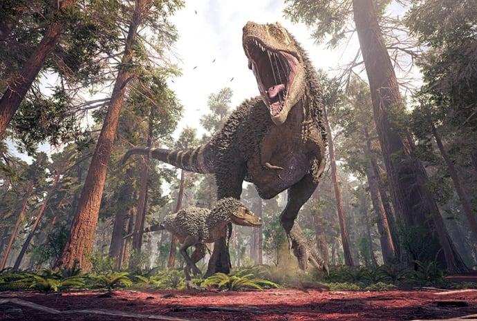 Dinosaurier invaderar Skellefteå