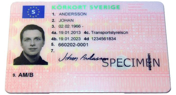 Förslag: körkort slopas som ID