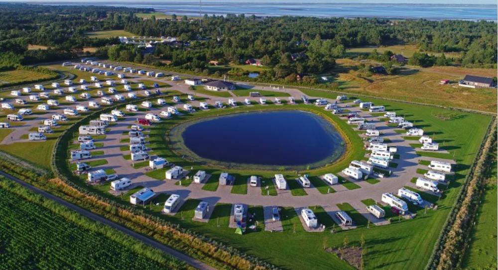 Ställplatsen Oasen Rømø får fler platser
