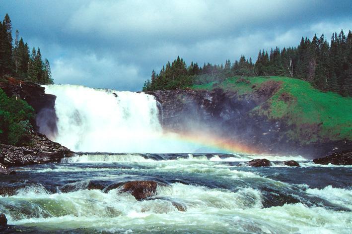 Tännforsen, Sveriges största vattenfall