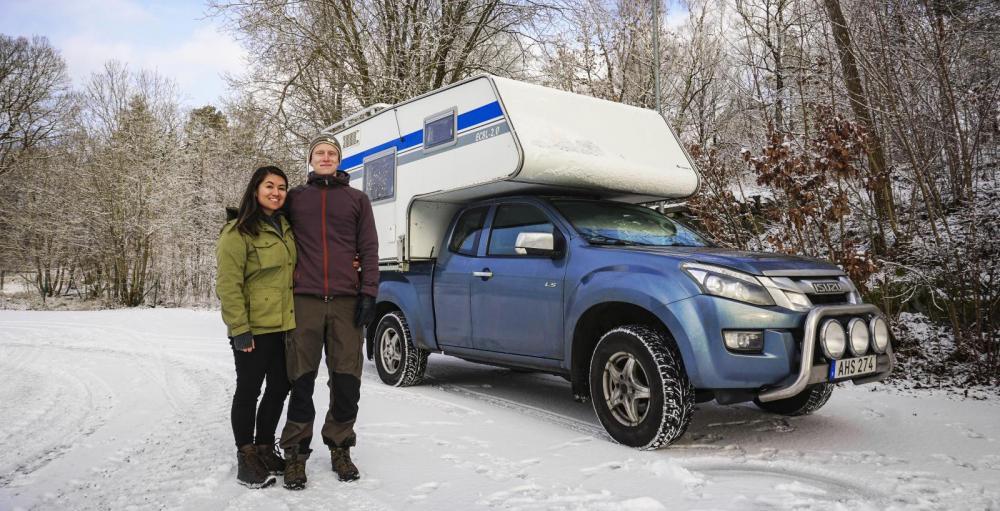 """""""Äntligen startar vår resa med camper genom Amerika!"""""""