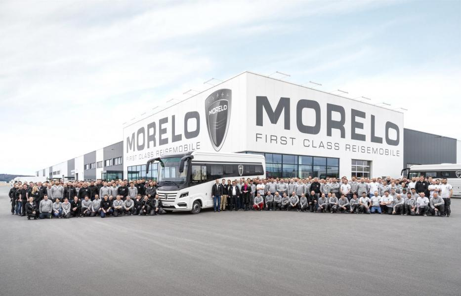 Morelo bygger sin 2000:e husbil