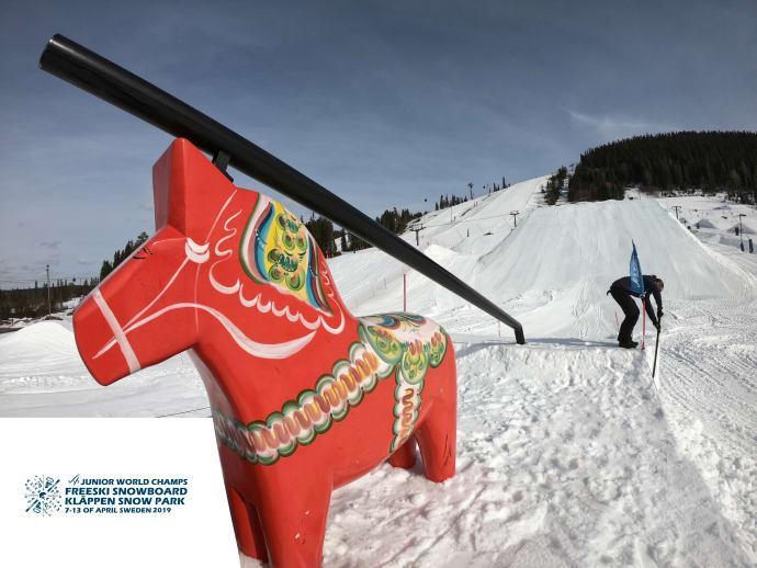Junior-VM 7-13 april i Kläppen snow park