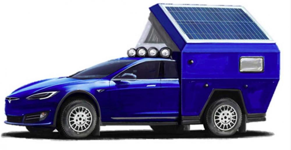 Tesla blir husbil