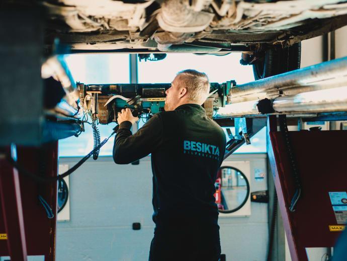 Visby får ny besiktning
