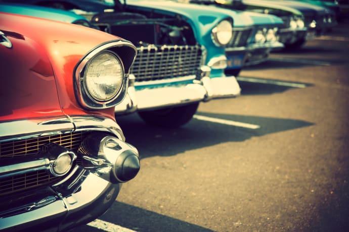 Classic Car Week i Rättvik vecka 31