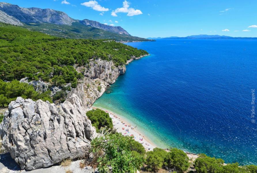 Kroatiska badstranden Pasjača är Europas vackraste