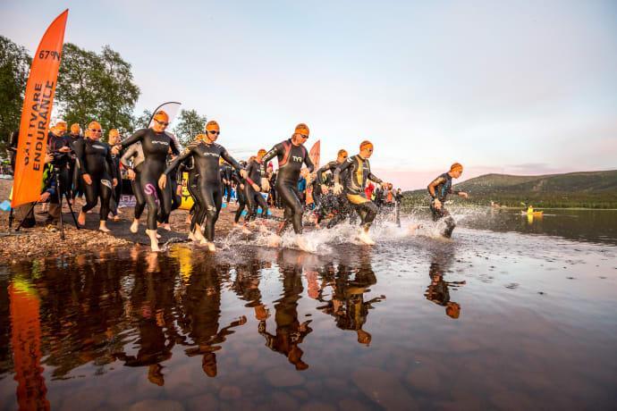 Triathlonfest i Gällivare i juli
