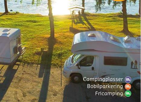 Norsk campingguide i bokform