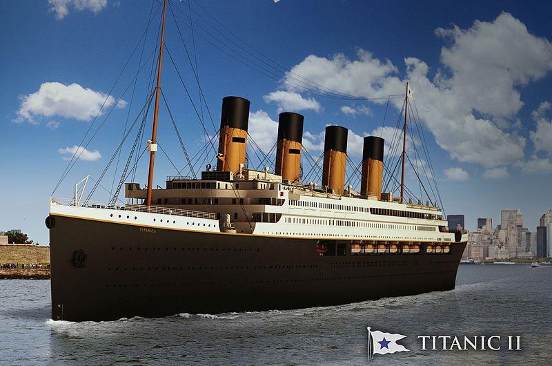 Titanic är i Uppsala