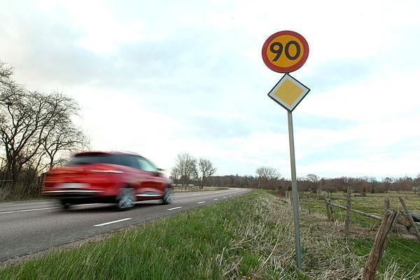 Sänkt hastighet på 425 mils väg
