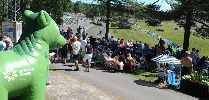 Folkfest för trav i Halmstad