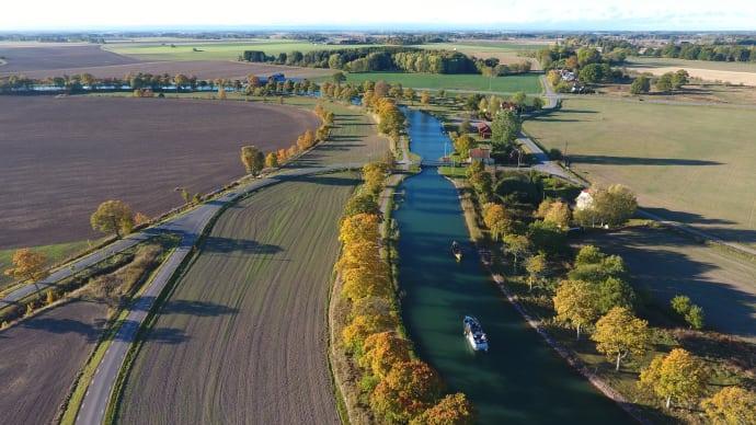 Ny ställplats vid Göta Kanals Sjötorp