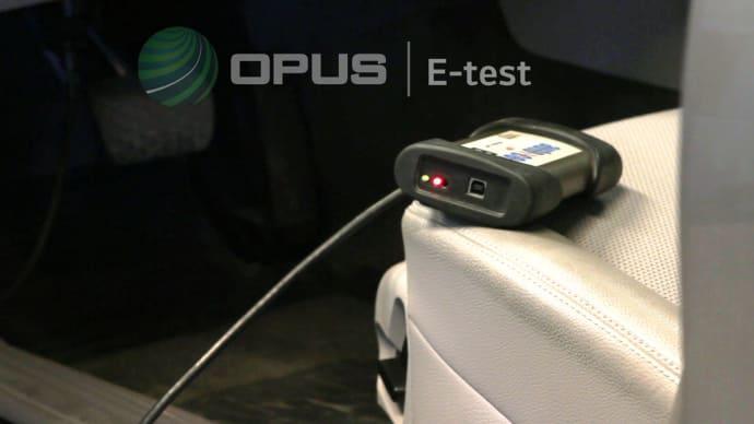 Opus introducerar E-test för bilens elsystem
