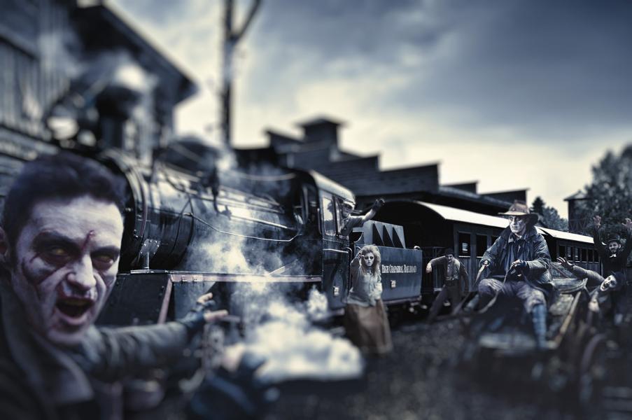 High Chaparral satsar stort på halloween