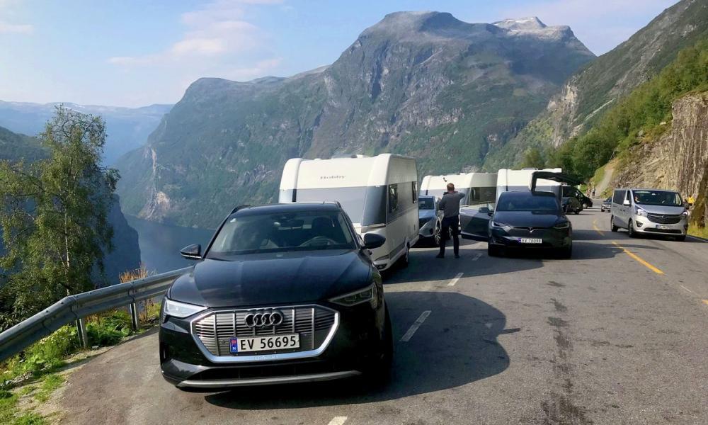 Elbilar som dragbilar i intressant norsk test