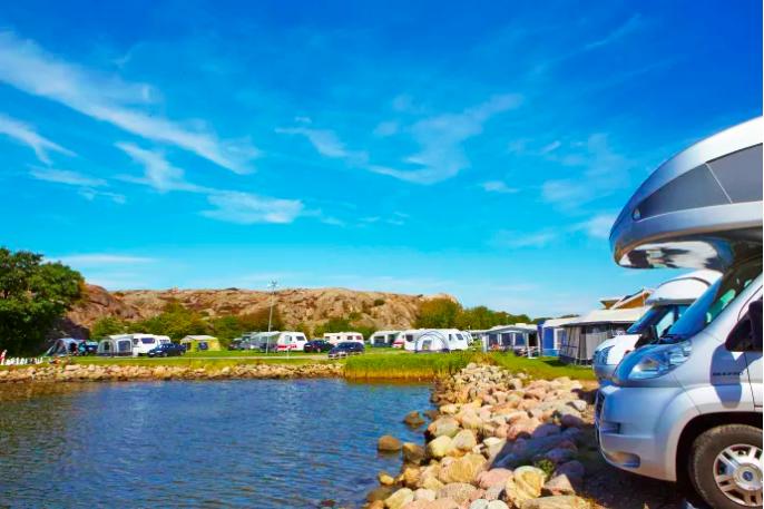 Sveriges campingplatser ökar beläggningen 2019