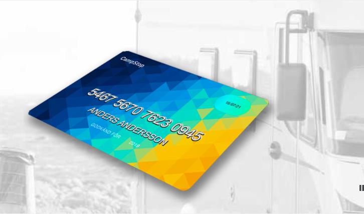 Trots att kortet är digitalt illustreras vampstops hemsida på detta sätt.