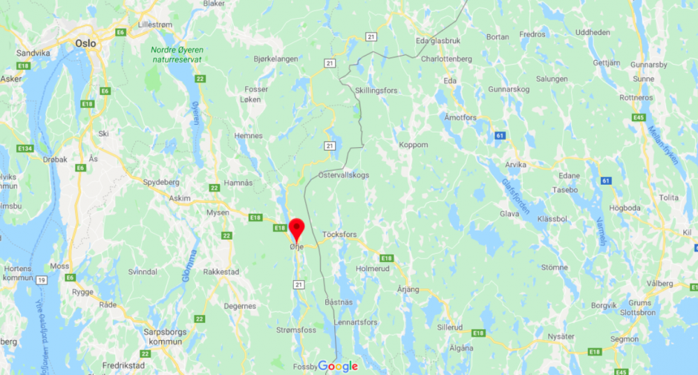 Norska E18 vid svenska gränsen stängs i tio veckor
