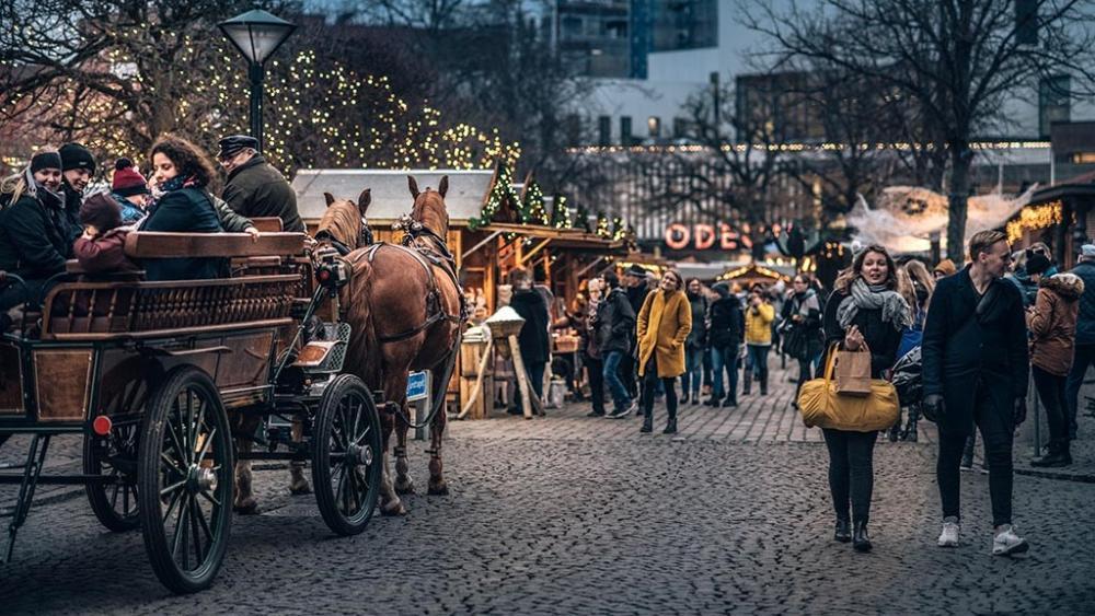 Julen är ljuvlig i Danmark