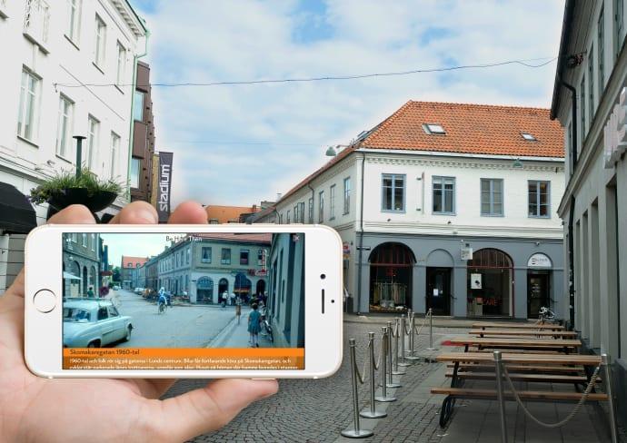Ny app ger liv åt Lunds historia