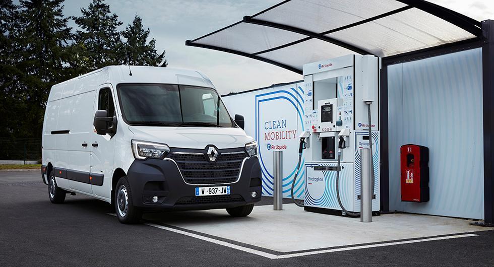 Renault börjar med bränsleceller