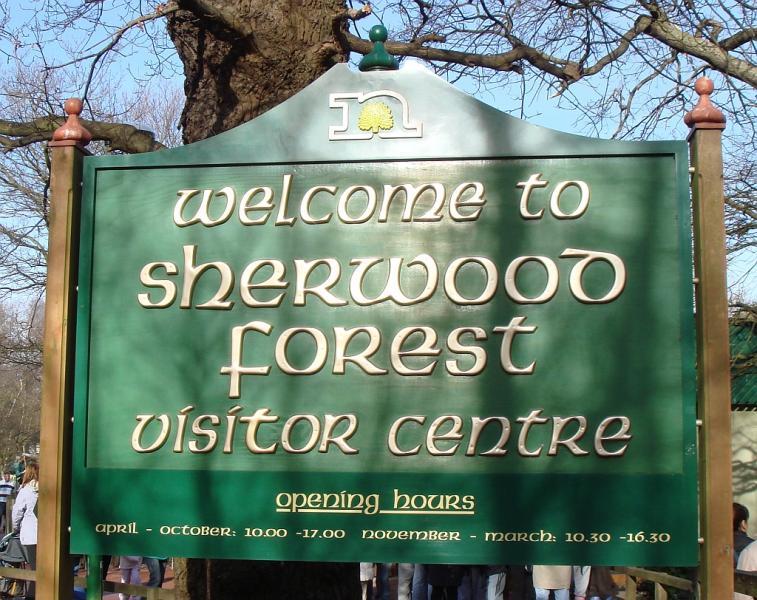 Vem vill inte bo i Sherwood-skogen