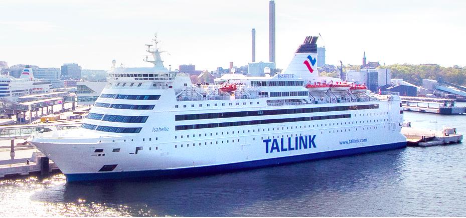 Med Tallink från Riga till Visby