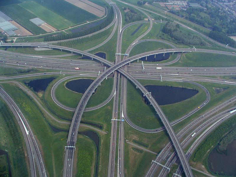 Holland sänker hastigheten på motorväg