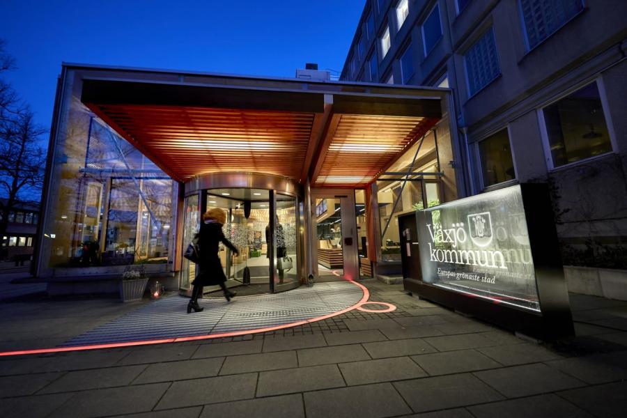 Växjö kommun flyttar turistcenter
