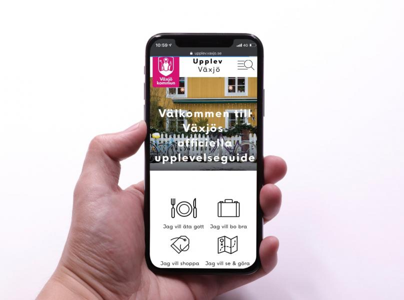 Växjö lanserar intelligent turistsajt
