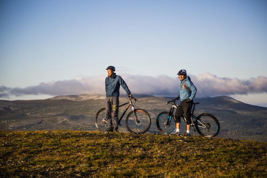 Lofsdalen satsar stort på cykel och vandring