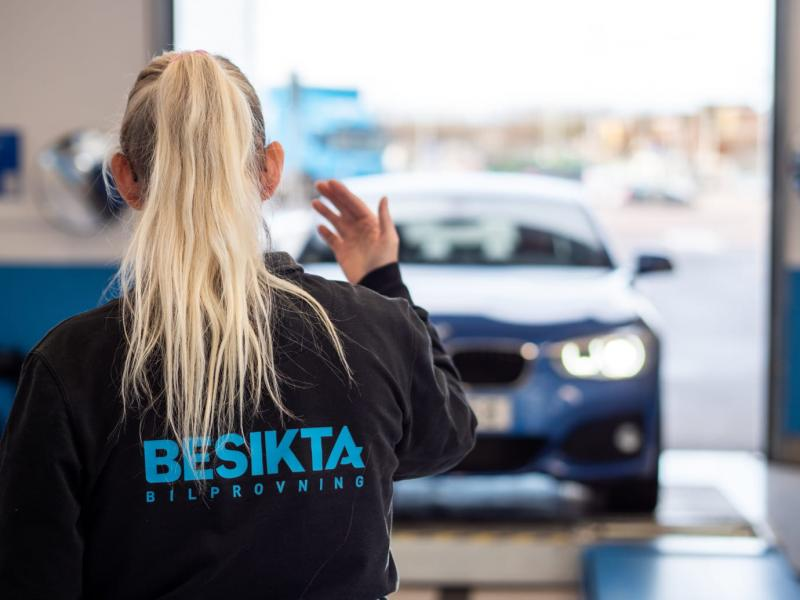 Lättare besiktiga husbil i Visby