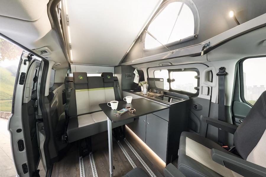 Dethleffs visar upp husbil med Plug-in-Hybrid